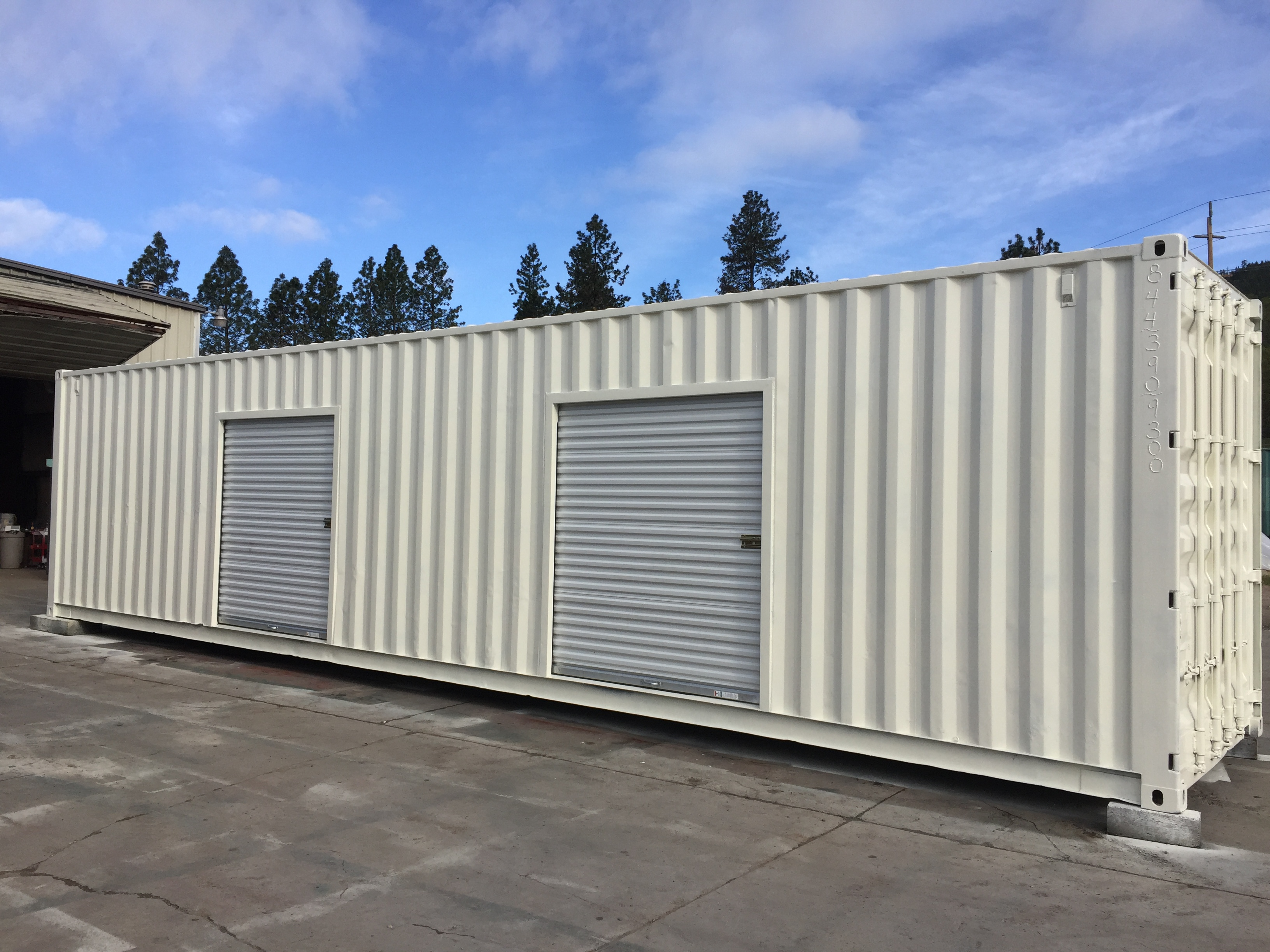 40 ft container grow room facility oregon cargo containers inc 844 3909300 sale rent modify every day storage solutions